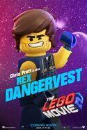 The LEGO Movie 2 Poster Rex Dangervest