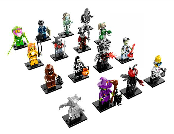X 1 BRIEFCASE FOR THE ZOMBIE BUSINESSMAN PARTS LEGO-MINIFIGURES SERIES 14