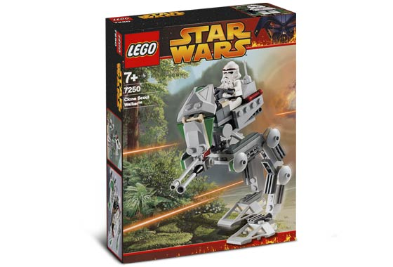 LEGO STAR WARS EPISODE 111 CLONE SCOUT WALKER 7250