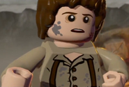 Frodo after Shelob in Clothes