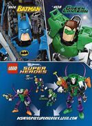 Joker and Green Lantern Combiner Model One