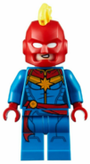 LEGO Captain Marvel 2020 (Masked, Alternate face)