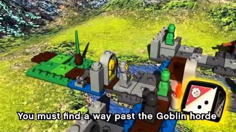 LEGO HEROICA - Introduction Castle Fortaan Board Game