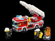 60107 Le camion de pompiers avec échelle