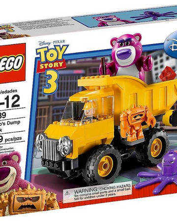 LEGO TOY STORY 3 LOTSO/'S DUMMP TRUCK 7789