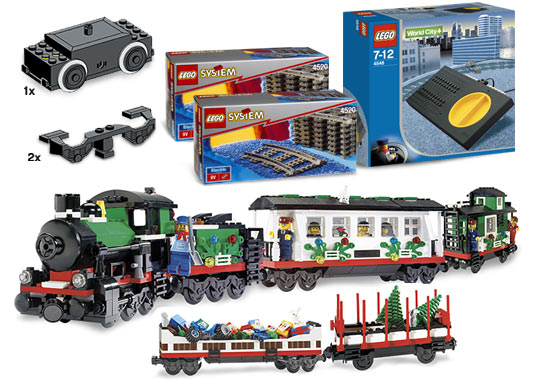 Lego Christmas Train.K10173 Complete Holiday Train Collection Brickipedia