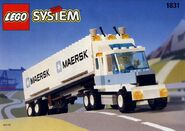 1831 Maersk Line Container Lorry
