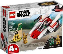 75247 Rebel A-Wing Starfighter Box