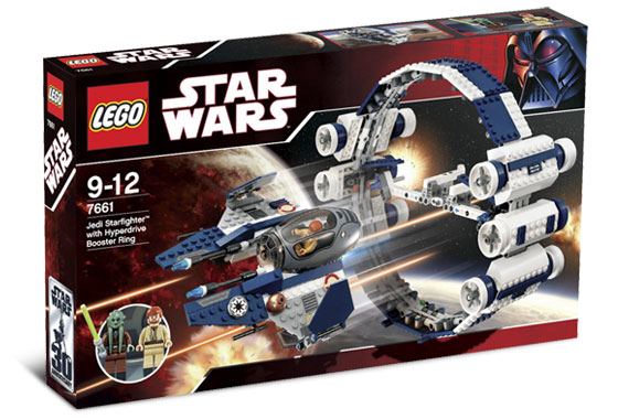 7661 Jedi Starfighter with Hyperdrive Booster Ring | Brickipedia ...
