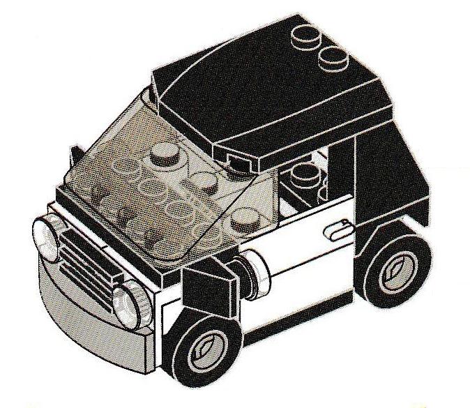 Emmets Car Brickipedia Fandom Powered By Wikia