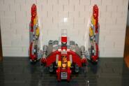 Brickmaster Star Wars Angriffsschuttle der NU-Klasse Flügel hoch