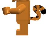 LEGO Garfiled Side