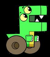 Cartoon Dino Dude