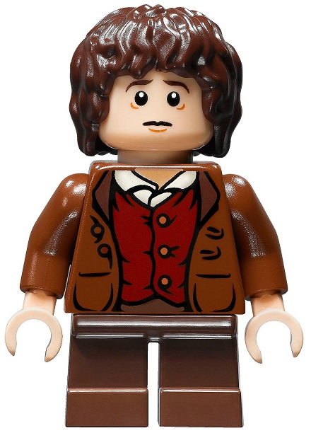 Building Toys Lego Lord Of The Rings Hobbit Frodo Baggins Minifigure