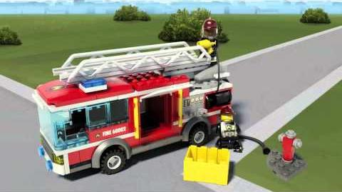 LEGO City - Fire Truck 60002