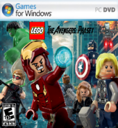 LEGO The Avengers-Phase 1 Cover (PC)