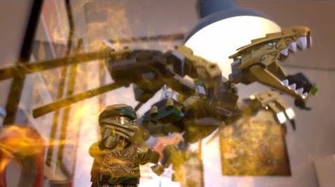 The Golden Dragon Product Animation - LEGO Ninjago Legacy