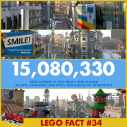 The LEGO Movie 15 080 330 briques