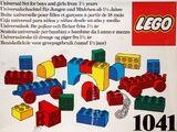 1041 Educational DUPLO Building Set
