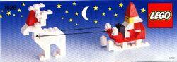 1628 Santa with Reindeer and Sleigh