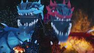 Dragon de fusion-Le feu et l'eau