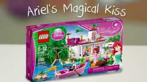 LEGO Building with Friends - Ariel's Magical Kiss Quick Build
