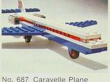 687 Caravelle Plane