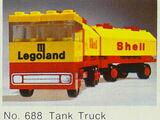 688 Shell Tank Truck