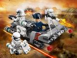 75166 Pack de combat le Speeder de transport du Premier Ordre