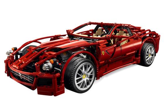 8145 Ferrari 599 GTB Fiorano 1:10 | Brickipedia | FANDOM powered by
