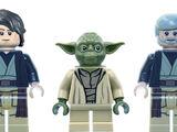 Anakin, Yoda, and Obi-Wan Ghosts