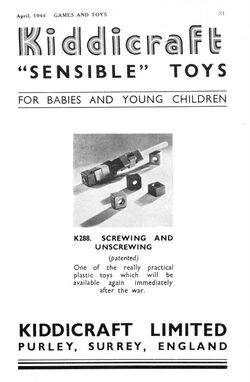 Kiddicraft Sensible Toys (GaT 1944-04)