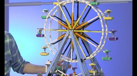 LEGO Creator - 10247 Ferris Wheel Designer Video