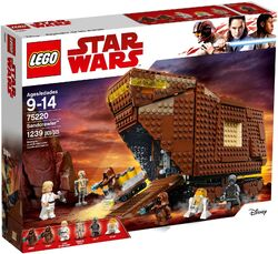 75220 Sandcrawler Box