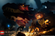 Bilbo and smaug