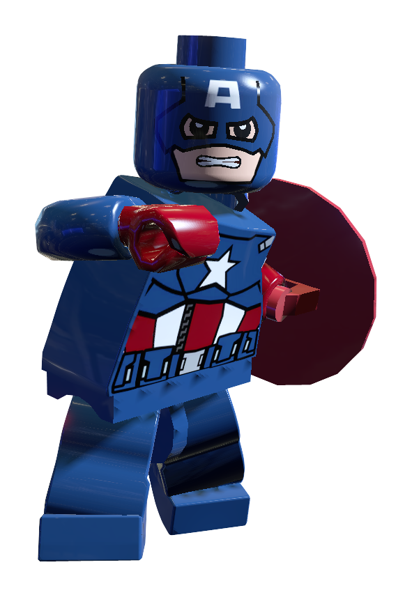 marvel lego captain america