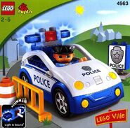 DUPLO Police Car