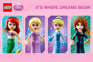 Disney Princesses It's where dreams begin