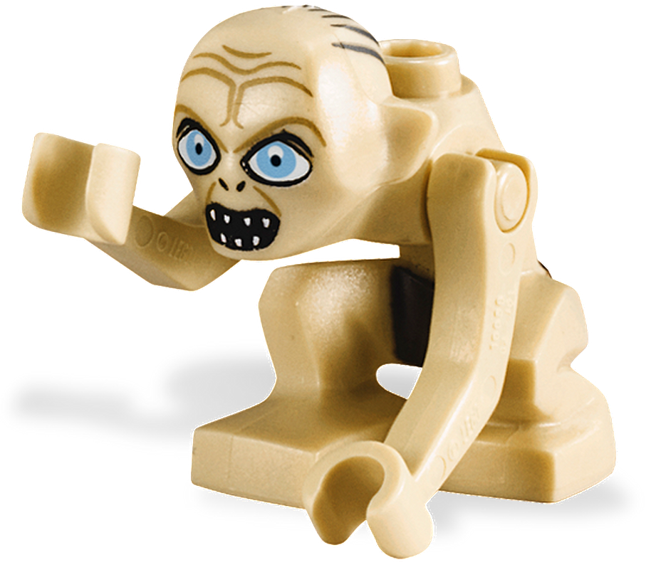 GOLLUM w// CAVE LEGO LORD OF THE RINGS MINI FIGURE