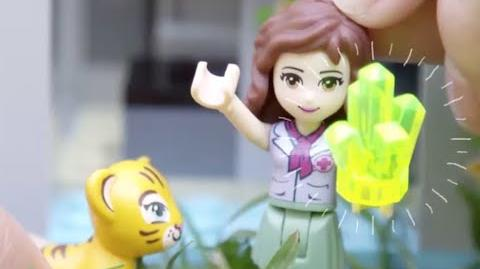 """LEGO Building with Friends - """"How To"""" Jungle Falls Rescue"""