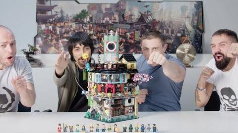 NINJAGO City - LEGO NINJAGO Movie - 70620 - Designer Video