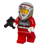 Rebel A-wing pilot with visor