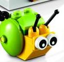 The lego movie snail