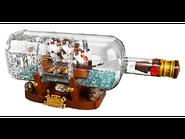 21313 Bateau dans une bouteille