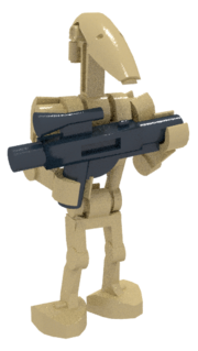 Battle Droid Render