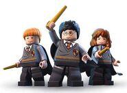 Harry Potter Ron Weasley Hermione Granger 2 Années 1 à 4
