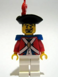 Imperial guard officer with black beard