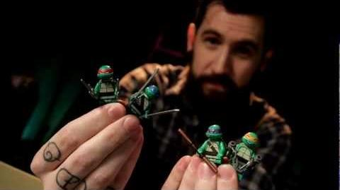 LEGO® Teenage Mutant Ninja Turtles Designer Video- Part 1