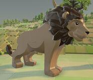 Lego Worlds Lion