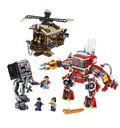 Windmühle und Feuerwehr-Roboter Verstärkung 70813 5